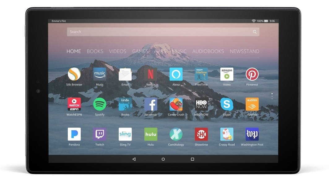 New Amazon Fire HD 10
