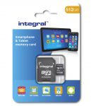 512GB microSD card Integral