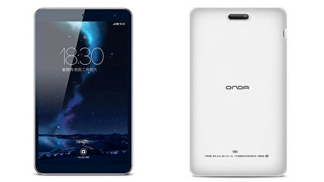 Cheapest 8-inch Android 7.0 tablet - Onda V80