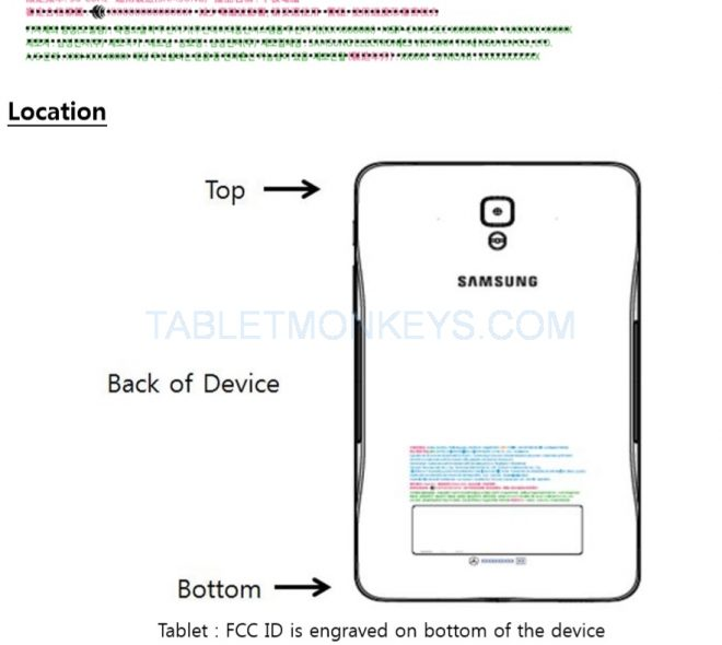 Samsung Galaxy Tab 7-Inch 2018 Samsung SM-T230NZ