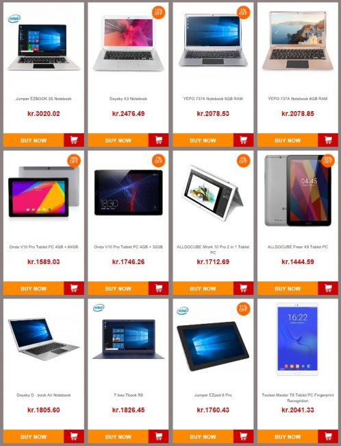 April Tablet Sales