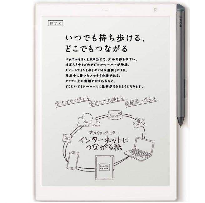 Sony Digital Paper (DPT-CP1 1804)