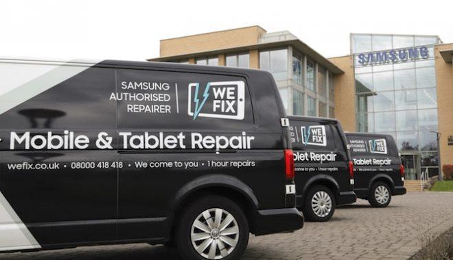 UK Samsung Repair Service Tablet Phone