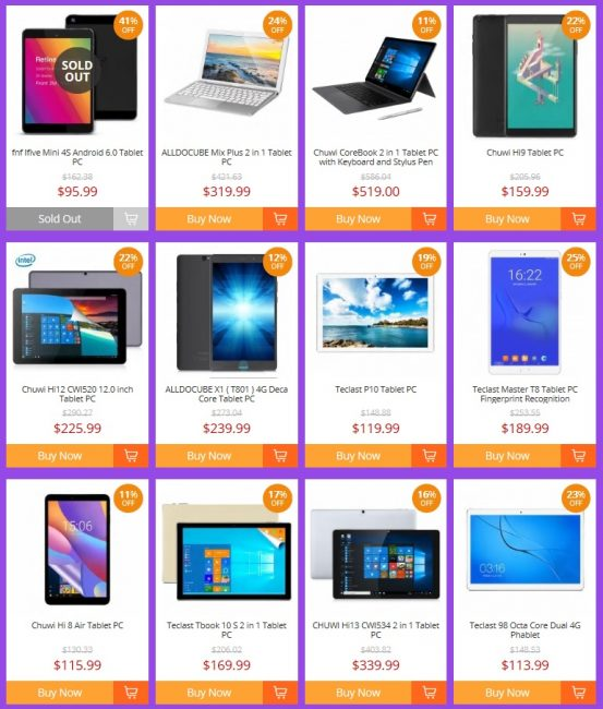 End of June Tablet Sales