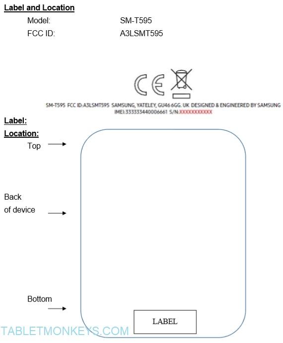 Samsung Galaxy Tab A2 Xl 10.5 (2018)