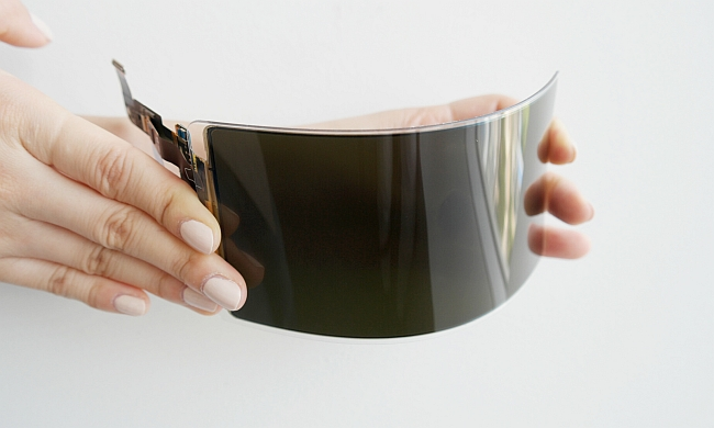 Samsung Flexible OLED Display Panel