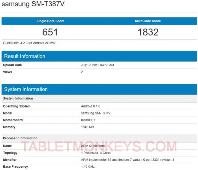 Samsung Galaxy Tab A 8.0 2018 - Samsung Galaxy Tab A Lite - Tab A2 8.0 - SM-T387