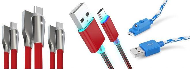USB Cables LED Light