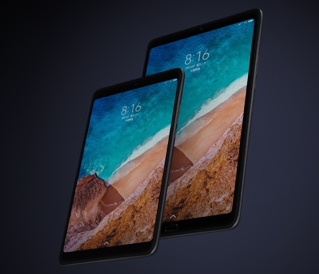 Xiaomi Mi Pad 4 with Xiaomi Mi Pad 4 Plus