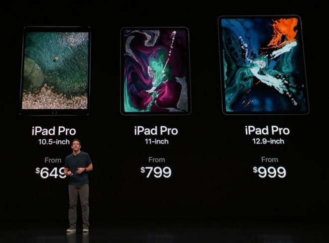 Apple iPad Pro Prices 2018 November December