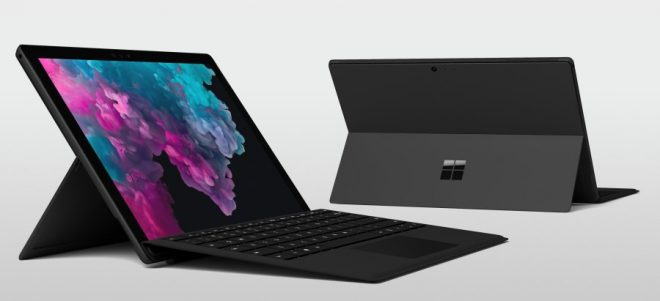 The new Microsoft Surface Pro 6