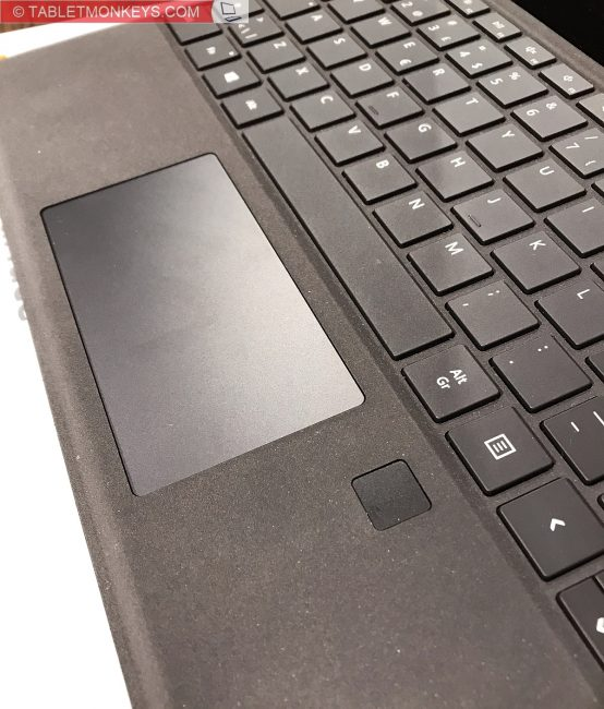 Microsoft Surface Pro Keyboard, the Surface Fingerprint ID Type Cover