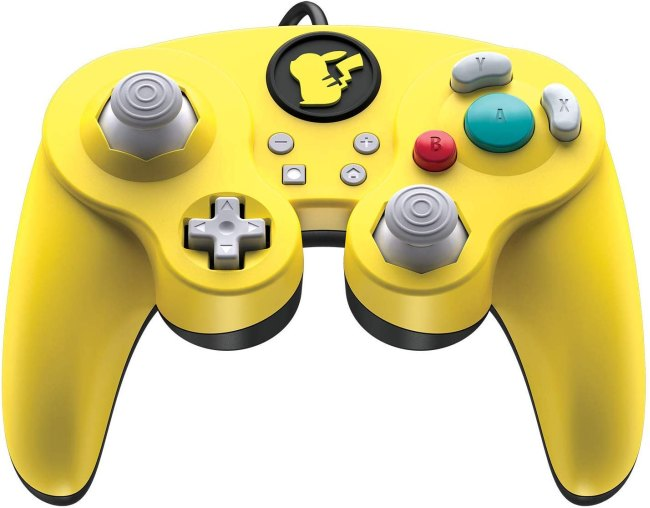 PDP Nintendo Switch Pikachu Wired Fight Pad Pro, 500-100