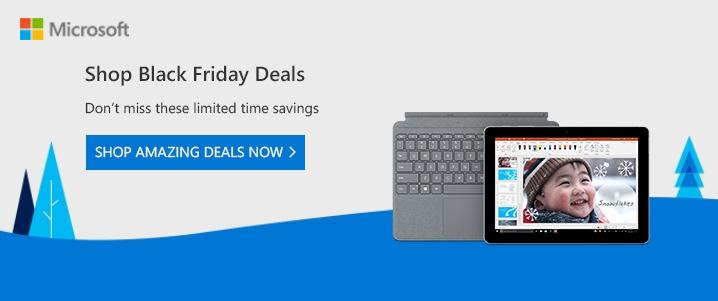 Microsoft Surface Tablets Sale Black Friday 2018