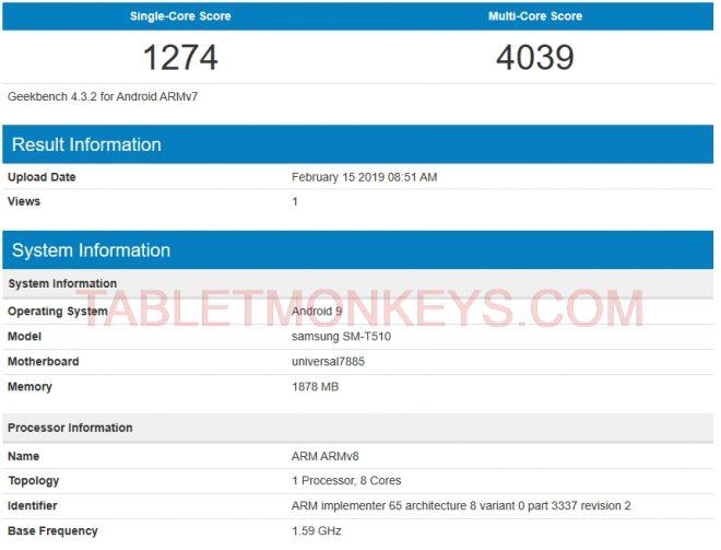 Samsung Galaxy Tab A 10.1 2019 (SM-T510 SM-T515)