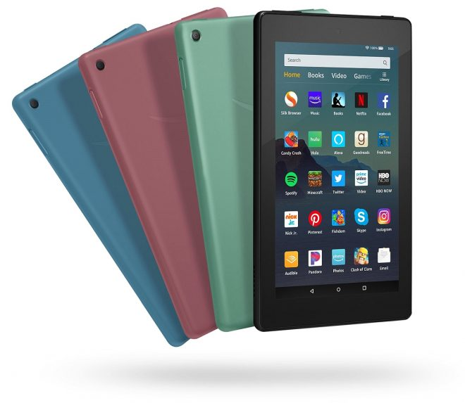 The Best Tablet For 2019: New Amazon Fire 7 (2019) Tablet Announced On May 16 2019