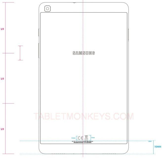 Samsung Galaxy Tab A 7.0 (2019 Model) (SM-T295)