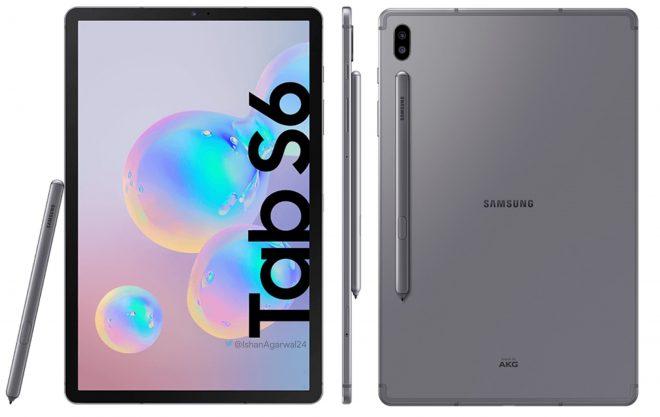 Samsung Galaxy Tab S6 SM-T860 Leaks