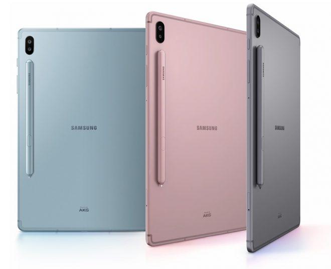 Samsung Galaxy Tab S6 tablets