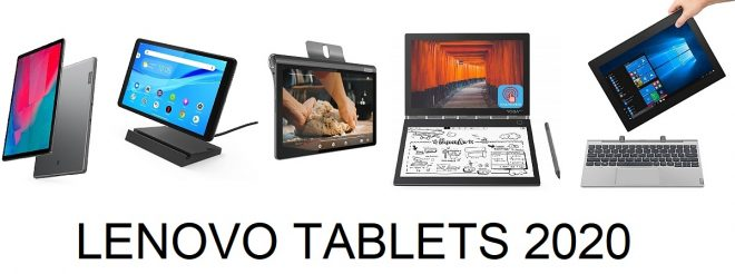 Lenovo Tablets 2020