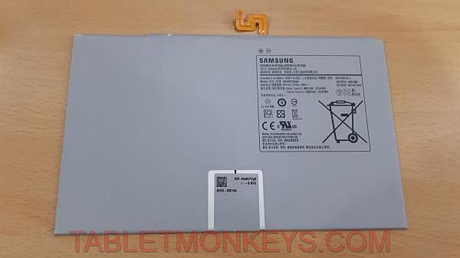 Samsung Galaxy Tab S7+ Specs battery