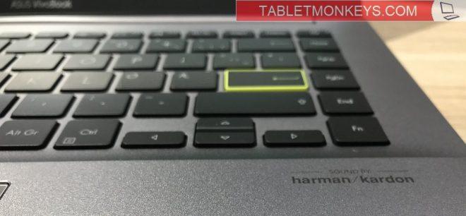 Asus VivoBook S Laptop Yellow Key Enter