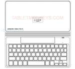 Samsung Galaxy Tab A7 Keyboard