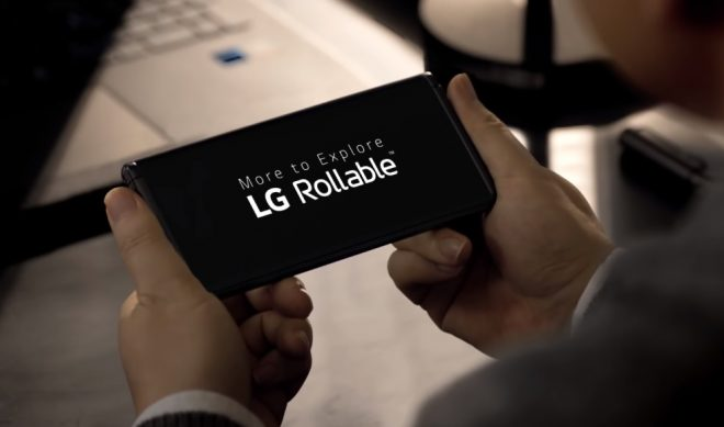 LG Rollable Launch