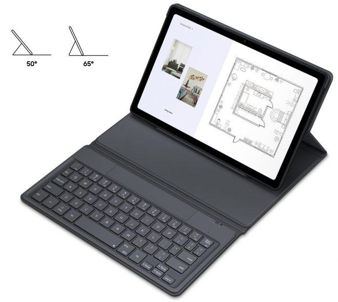 Samsung Galaxy Tab A7 Book Cover Keyboard EF-DT500