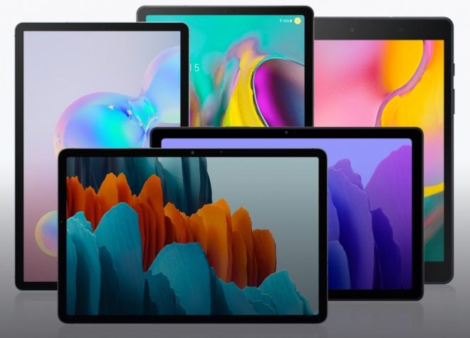 Samsung Tablets Security Updates 2021