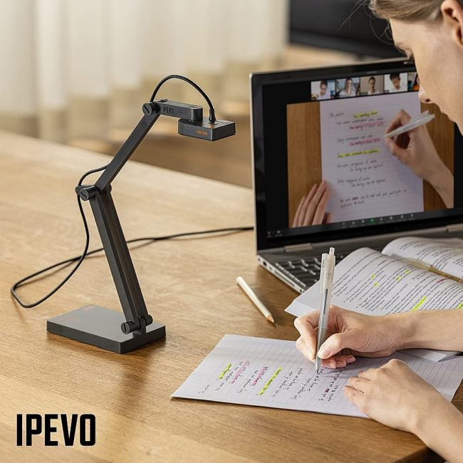 Live Document Camera IPEVO V4K Pro