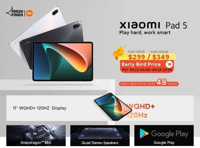 Xiaomi Mi Pad 5 Global Version